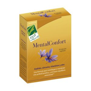 100 % NATURAL Mental Confort 30 cap