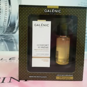 GALÉNIC Cofre Confort Supreme Serum 50ml + Regalo Aceite Seco 50ml