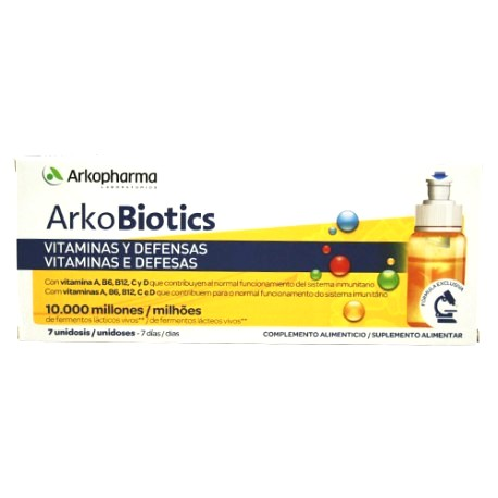 arkobiotics vitaminas y defensas