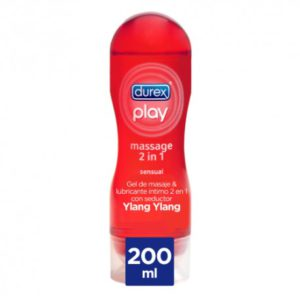 DUREX Lubricante Play Massage 2 en 1 Sensual 200 ml