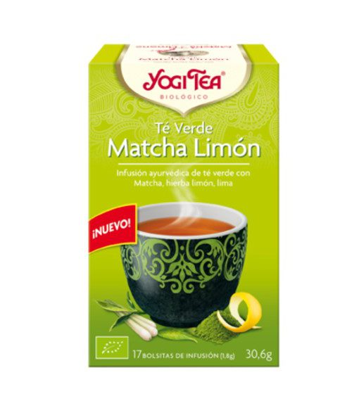 yogi tea matcha limon